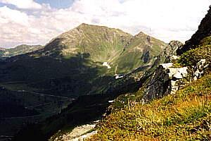 Die beiden Galtis (2424 und 2318m)
