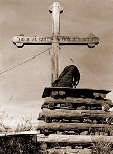 Gamskopf Gipfelkreuz