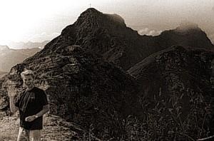 Blick vom Gamskopf auf den Tapenkopf