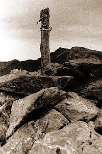 Das Gipfelkreuz