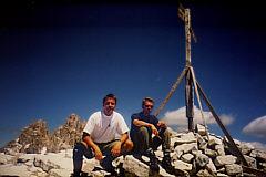 Beim Salamiessen auf dem Gipfel (c) by MB's Selbstauslöser